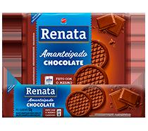 Biscoito Renata Amanteigado Chocolate - 133 g e 330 g