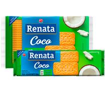 Biscoito Renata Laminado Coco - 200 g e 360 g