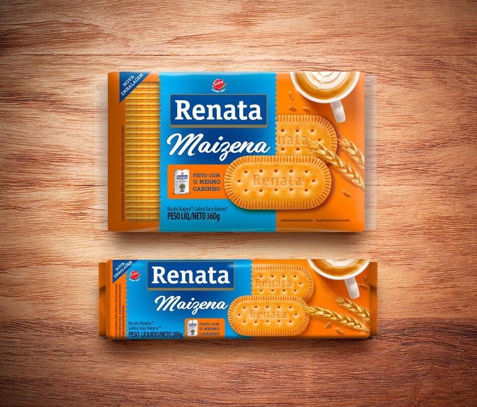 Biscoito Renata Laminado Maizena - 200 g e 360 g