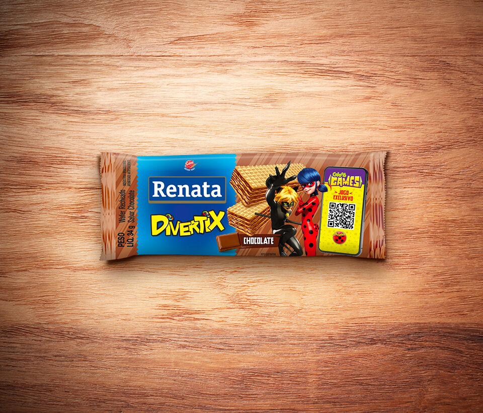 Renata Mini Wafer Divertix Chocolate