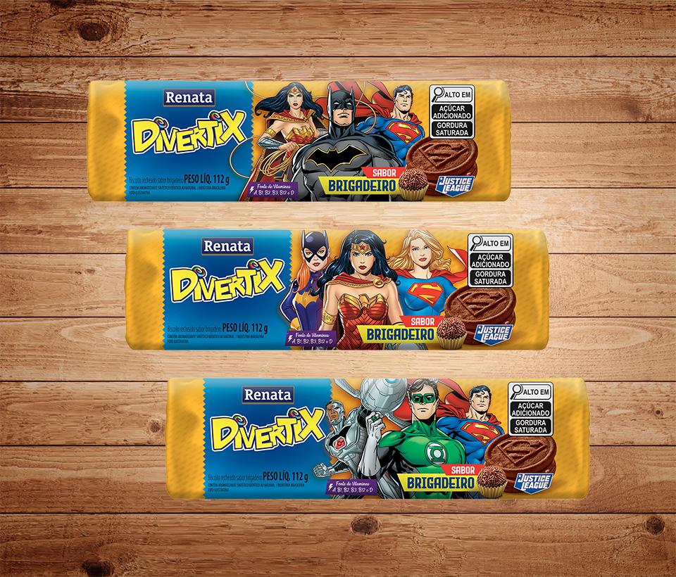 Biscoito Renata Divertix Brigadeiro