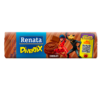 Biscoito Renata Divertix Chocolate