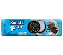 Biscoito Renata Chocolate Com Recheio Sabor Baunilha - Twitter