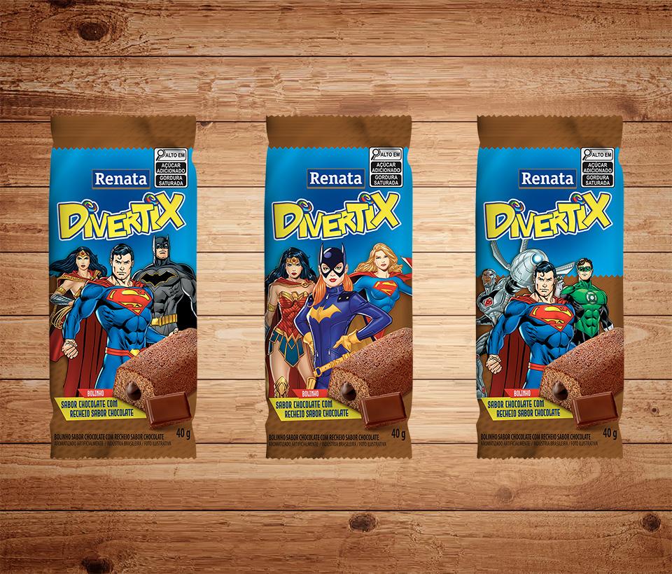 Bolinho Renata Divertix Chocolate
